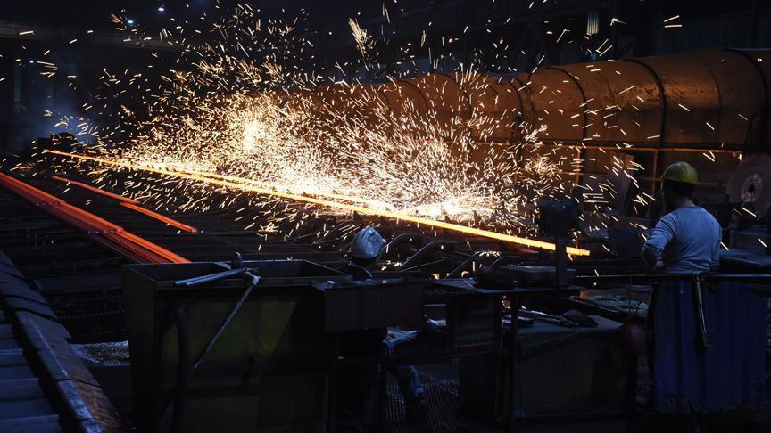 Küresel ham çelik üretimi kasımda arttı