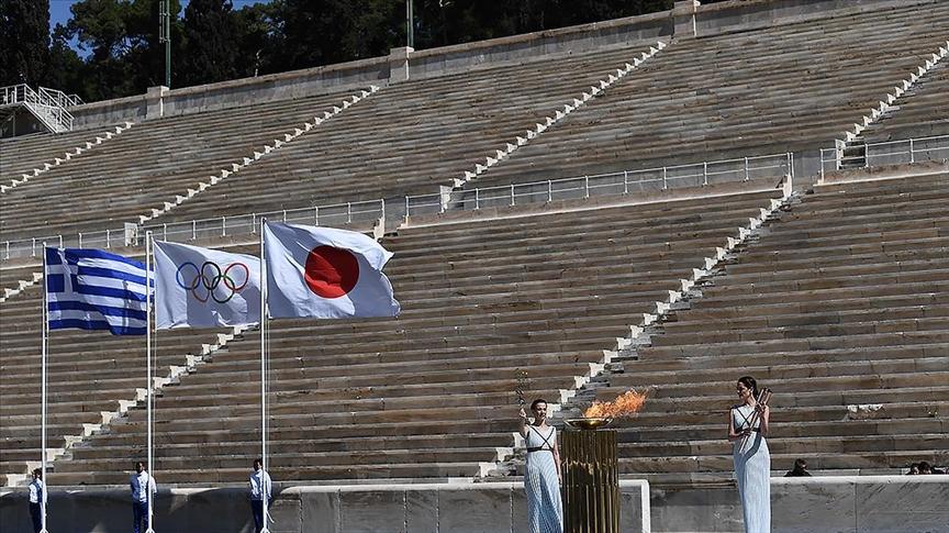 2020 Tokyo Olimpiyatları'nın meşale turu Fukuşima'da  başladı