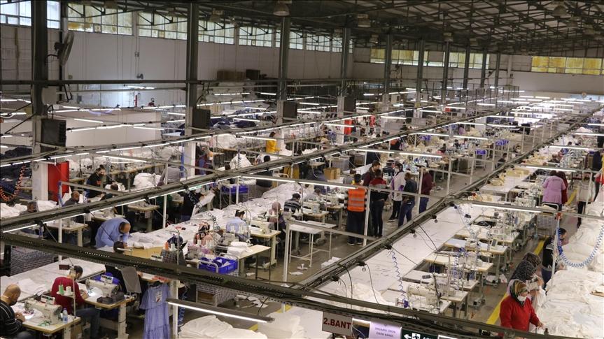 Yozgat'ta üretilen giysilerin büyük bölümü Avrupa'ya ihraç ediliyor