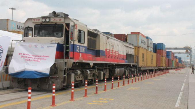 Bor yüklü ikinci tren Çin'e doğru yola çıktı