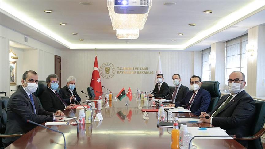 Türkiye ve Libya'dan iş birliğini geliştirme kararı