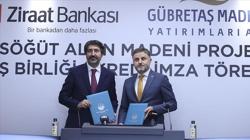 GÜBRETAŞ Maden AŞ ile Ziraat Bankası iş birliği yaptı