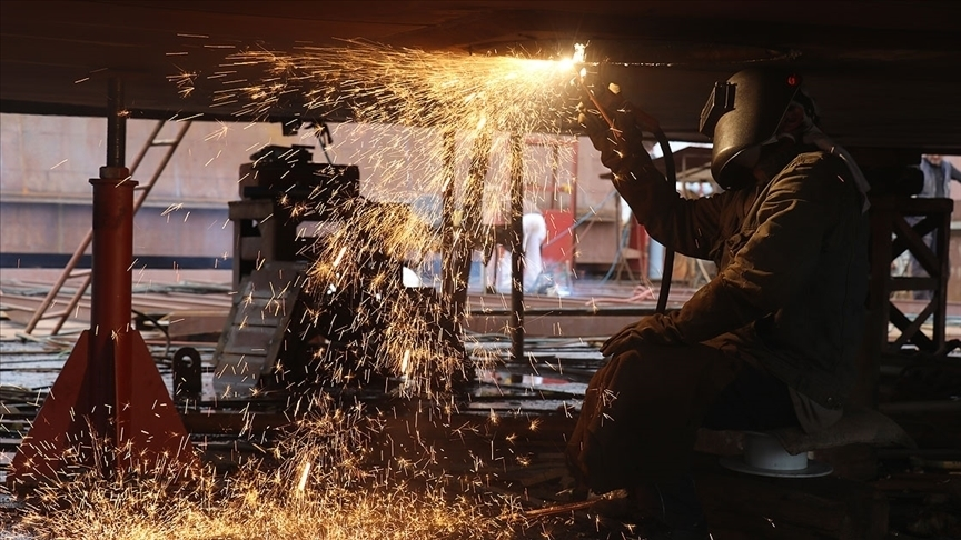 Avro Bölgesi'nde sanayi üretimi şubat ayında yüzde 1 geriledi