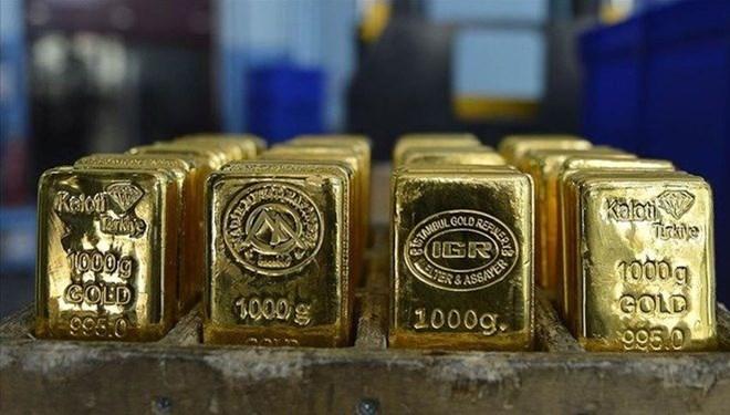 Gram altın 455 lira (14.04.2021)