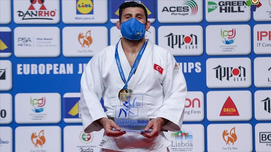 Avrupa Judo Şampiyonası'nda üçüncü kez 2 altın madalya