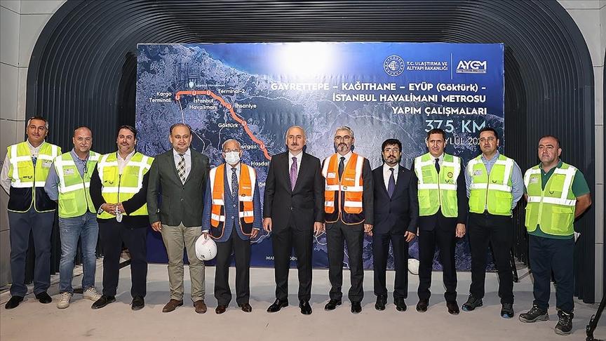 Kağıthane metrosunda  test sürüşlerini Kasım 2021'de başlatacağız