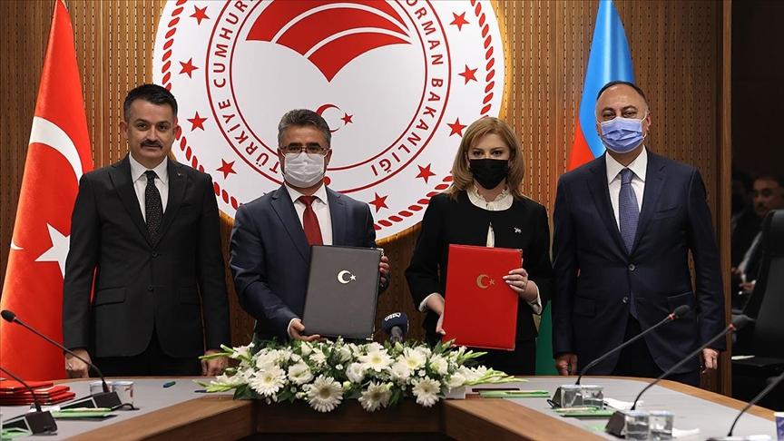 Azerbaycan ile gıda güvenliği konusunda anlaşma imzalandı