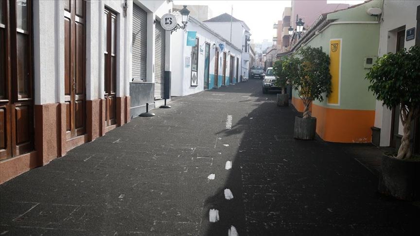 Cumbre Vieja Yanardağı'ndan çıkan küller La Palma Adası'nı kapladı