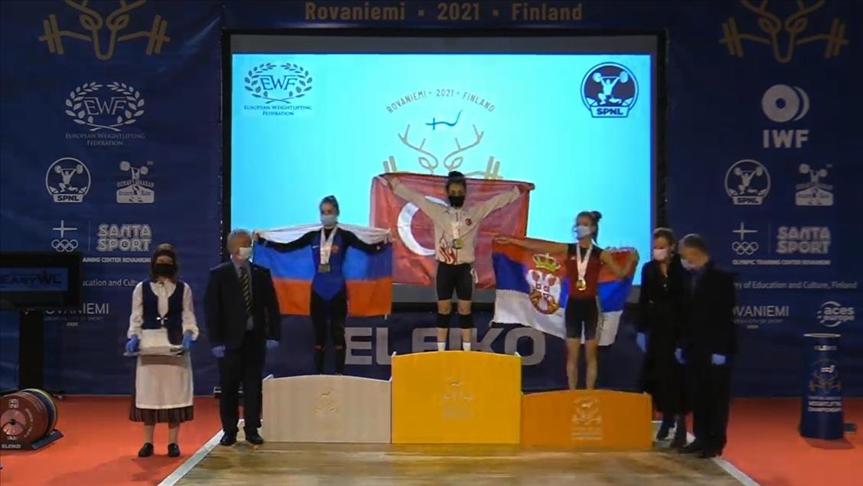 'Gençler ve 23 Yaş Altı Avrupa Halter Şampiyonası'nda başarı