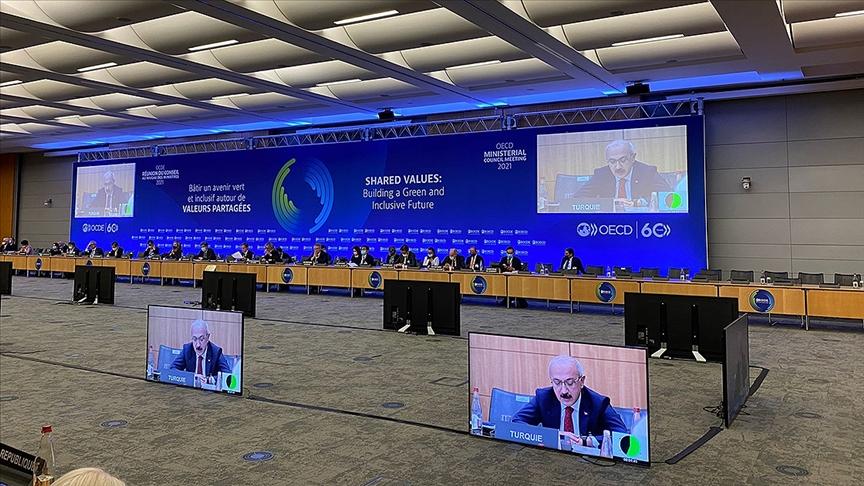 OECD Bakanlar Konseyi Toplantısında Yeni Vizyon Belgesini kabul ettik