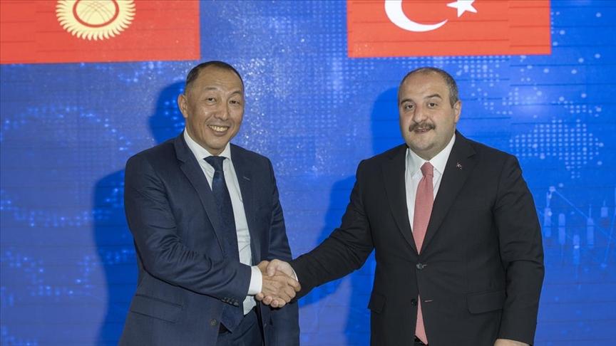 Türkiye ve Kırgızistan sanayi, teknoloji alanında mutabakat imzalandı