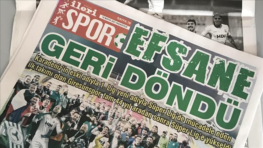 Yerel basınında Süper Lig sevinci