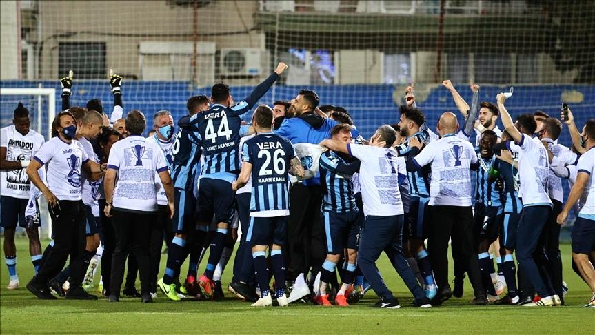 Adana Demirspor 26 yıllık Süper Lig hasretine son verdi