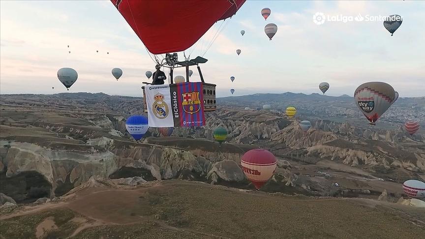 Kapadokya görüntülü EL Clasico tanıtımı
