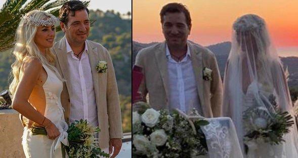 Tuğçe Eyilik ile Ekrem Vardar, Bodrum'da evlendi