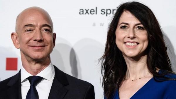 Jeff Bezos'un eski eşinden dev bağış