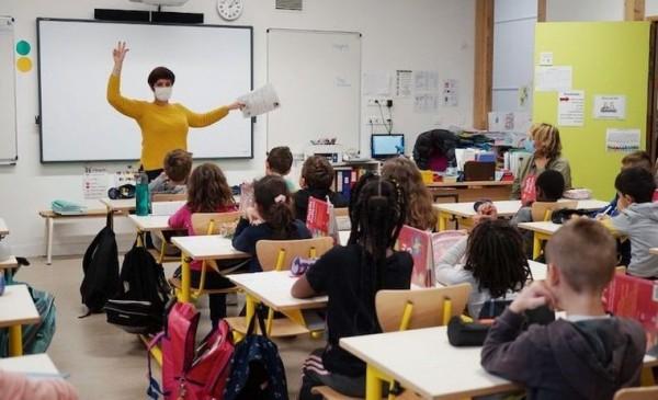 Fransa'daki ilkokullarda Türkçe dersi