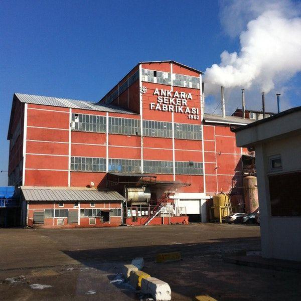 Ankara Şeker Fabrikası'nda rekor seviyede üretim yapıldı