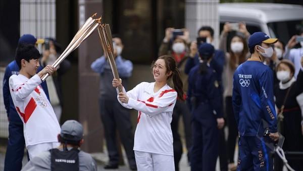 Tokyo Olimpiyatlarının Osaka'daki meşale turu iptal edildi