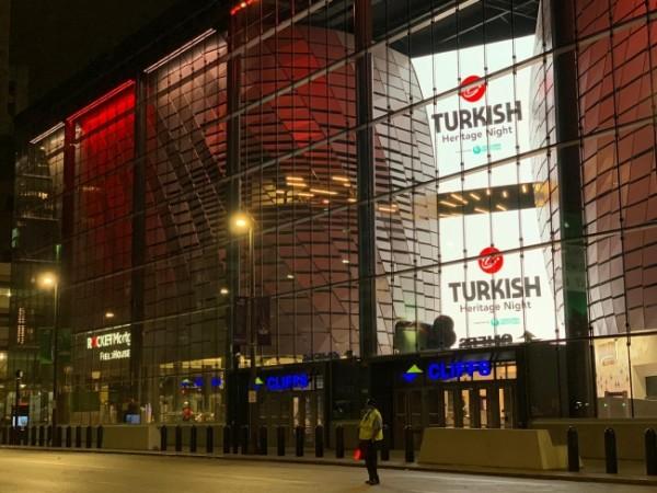 NBA maçında Türk kültürü esintileri