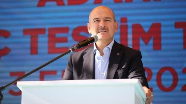 İçişleri Bakanı Soylu Şu ana kadar 966 milyon lira bir yardım toplandı