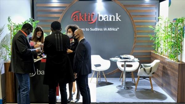 Aktif Bank 'Türkiye-Afrika Ekonomi ve İş Forumu'nda yerini aldı