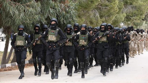 Libya'da TSK'nin eğitim verdiği askeri öğrenciler törenle mezun oldu