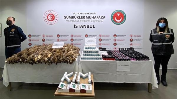 Operasyonlarda 2,5 milyon lira değerinde kaçak eşya ele geçirildi