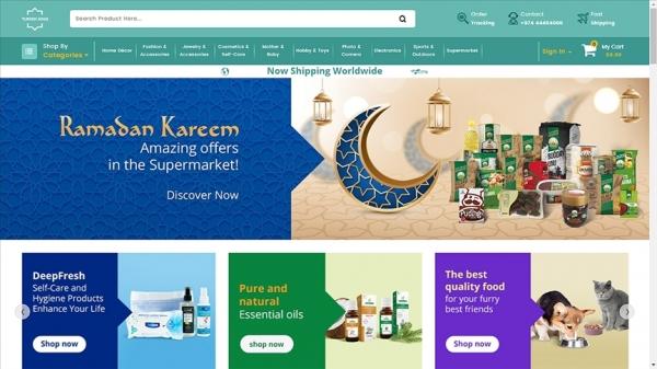 Türk ürünlerini 'turkishsouq.com' üzerinden dünya pazarına sunuyor